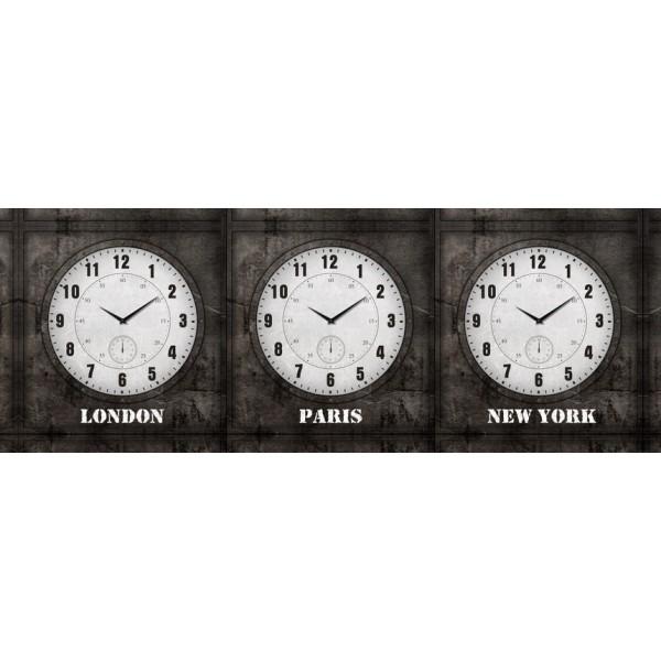 Clock World Time - 3 Clocks