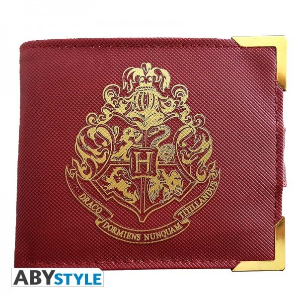 "Harry Potter Premium Wallet ""Golden Hogwarts"""