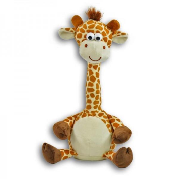 Giraffe  Dog Talking