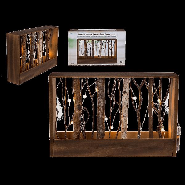 Natural Coloured Wooden Frame