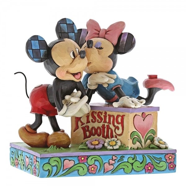 Mickey and Minnie Kissing Booth