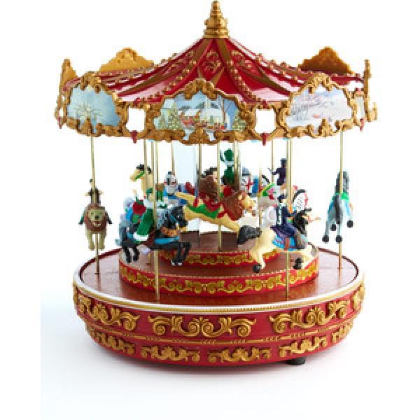 Mr Christmas Carousel.Mr Christmas World S Fair Swing Carousel