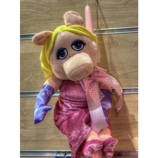 Λαμπάδα Miss Piggy Muppet Show