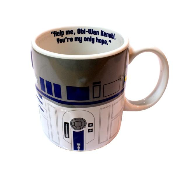 Star Wars R2 D2 Relief Mug Whole