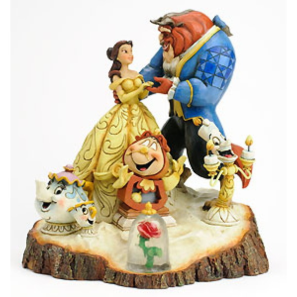 Beauty And The Beast Tale As Old As Time By Jim Shore