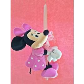 Λαμπάδα Minnie Mouse Λούτρινο