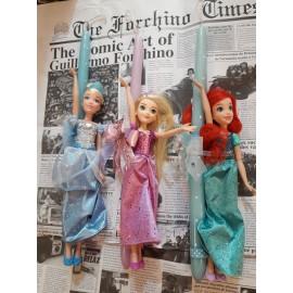 Λαμπάδα Πριγκίπισσες Disney- Σταχτοπούτα/ Άριελ/ Ραπουνζέλ