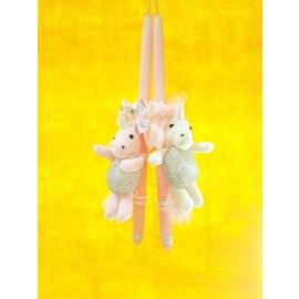 Λαμπάδα Μονόκερος Unicorn Μπρελόκ