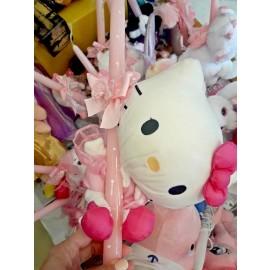 Λαμπάδα Hello Kitty Λούτρινο