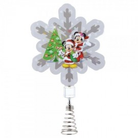 Mickey and Minnie Mouse Tree Topper
