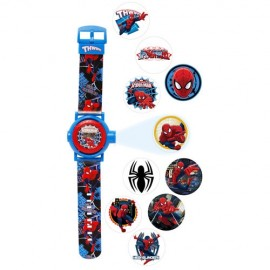 Spiderman Multi Projection Watch