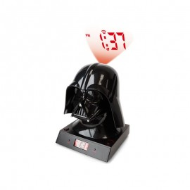 Star Wars 3D Darth Vader Clock Projection Alarm