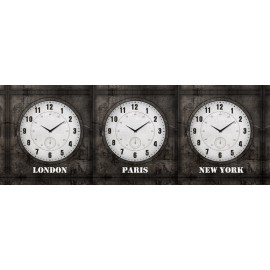 Clock World Time - 3 Clocks