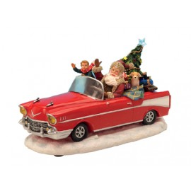 Santa Cabriolet With Music