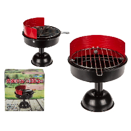 Metal Ashtray Barbecue