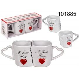 Double Mug I Love you
