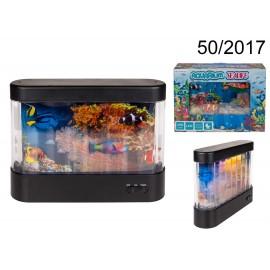 Aquarium Led 360 Rotation Seaworld