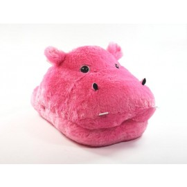 Warming Massage Slipper Hippo