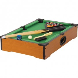 Wooden Tabletop Pool Game