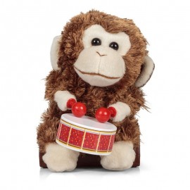 Drumming Monkey Drummer