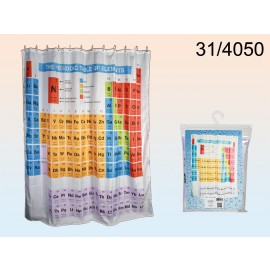 Shower Curtain Periodic Table