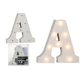 Illuminated Wooden Letters