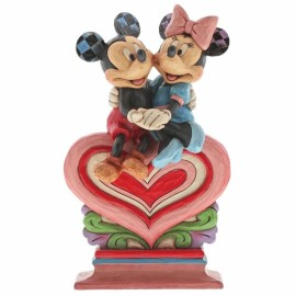 Heart to Heart (Mickey Mouse & Minnie Mouse Figurine)6001282