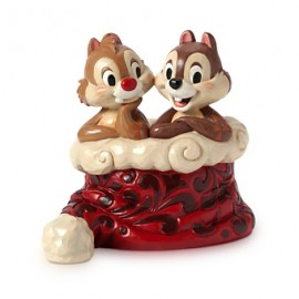 Jim Shore Disney- Holly Jolly Christmas Chip & Dale