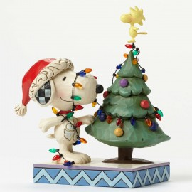 Tangled Up In Christmas Joy Snoopy