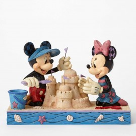 Seaside Sweethearts-Seaside Mickey and Minnie Figurine