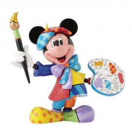 Mickey Mouse Painter Figurine By Britto