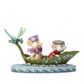 To The Rescue-Bernard & Bianca with Evinrude Figurine  Disney Traditions
