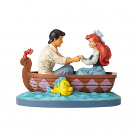 Waiting For A Kiss-Ariel and Prince Eric Figurine