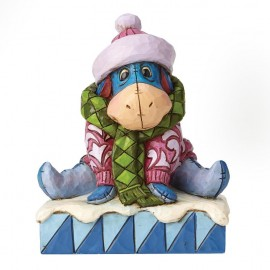 Disney Traditions Waiting For Spring Eeyore Figurine