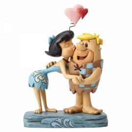 Betty and Barney Rubble Romance- Disney Jim Shore