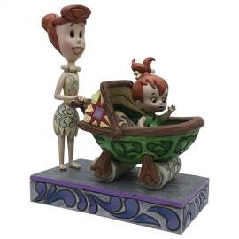 Beautiful Bond Wilma with Pebbles Flinstone- Disney Jim Shore