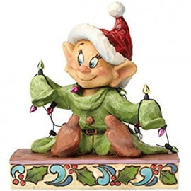 Dopey Figurine Light up The Holidays by Jim Shore