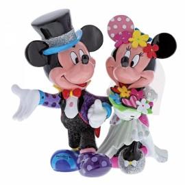 Disney By Britto - Mickey & Minnie Mouse Wedding Figurine