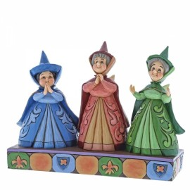 Flora, Fauna and Merryweather Royal Guests (Three Fairies )