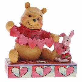 Handmade Valentines (Pooh & Piglet Figurine