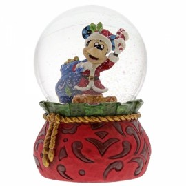 Disney Jim Shore- Bringing Holiday Cheer Mickey Mouse Waterball