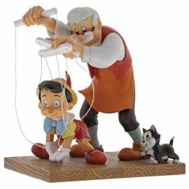 Little Wooden Head (Pinocchio Figurine)