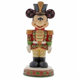 Disney Jim Shore- Nutcracker Stalwart Soldier Mickey Mouse