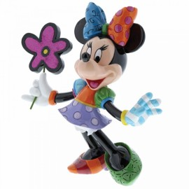 Minnie Mouse with Flowers Figurine By Britto