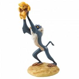 Disney Enchanting- A King is Born- Rafiki and Simba Figurine