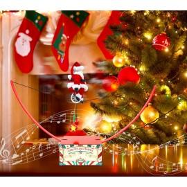 Mr. Christmas Unicycle Santa