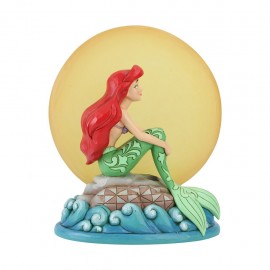 Ariel Sitting on Rock by Moon Jim Shore Disney