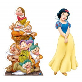 Lifesize Cardboards Snow White And The Seven Dwarfs