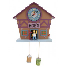 Homer Simpson Moes Bar Cuckoo Clock
