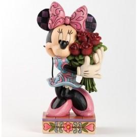 La Vie en Rose (Minnie Mouse with Flowers)- Jim Shore